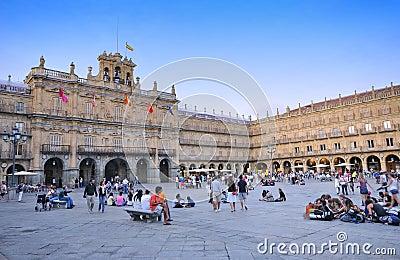 Salamanca, Spain. Editorial Photography