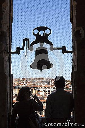 Salamanca - Tourists - Spain Editorial Photography