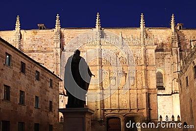 Salamanca university in Spain