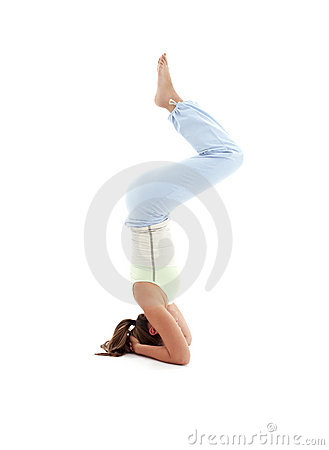 Salamba sirsasana supported headstand #5