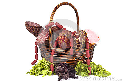 Salami Basket