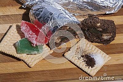 Salami biscuit ingredients