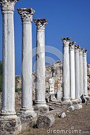Salamis in Turkish Cyprus