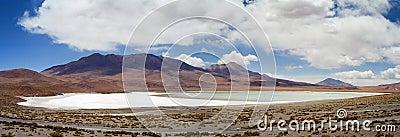 Salar de Uyuni Laguna Blanca, Bolivia