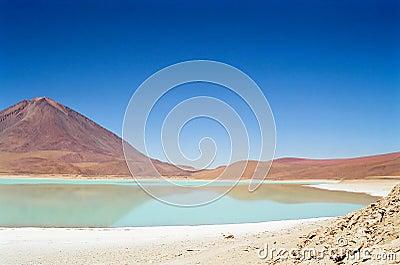 Salar de Uyuni Laguna Verde, Bolivia