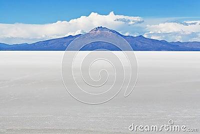 Salar de Uyuni Landscape in Bolivian Andes