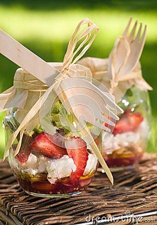 Salat für Picknick