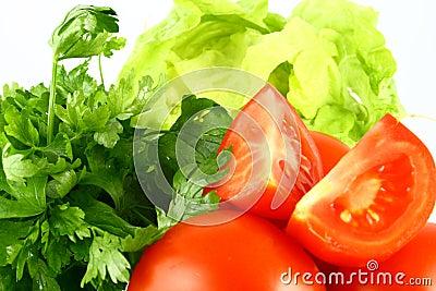 Salat tomato