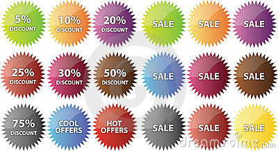Sale badges