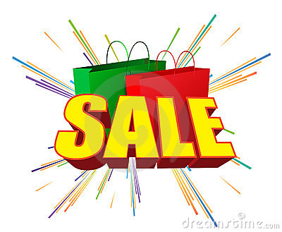 Sale and bags