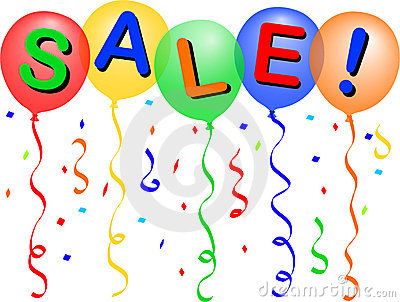 Sale Balloons/eps