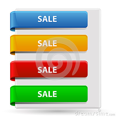 Free Sale Banners Stock Photo - 41846030
