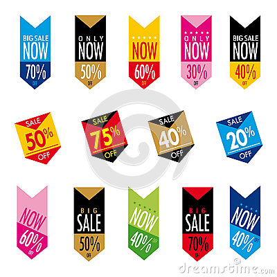 Free Sale Banners Stock Images - 70486104