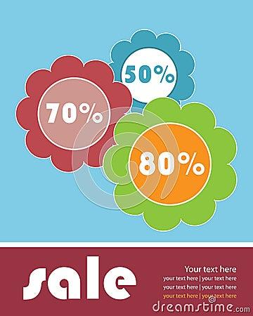 Sale brochure template