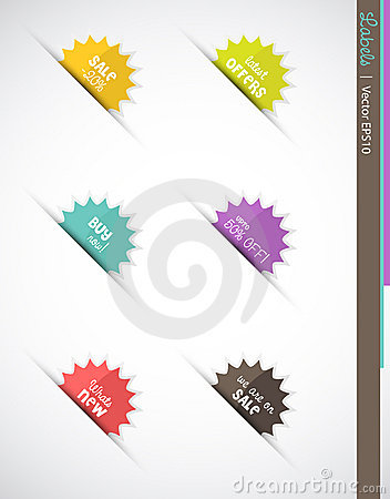 Sale Burst Labels or Icons