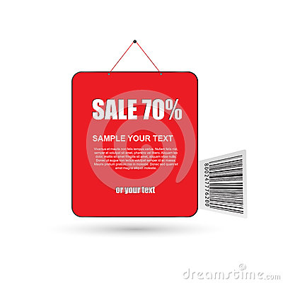 Sale business tags