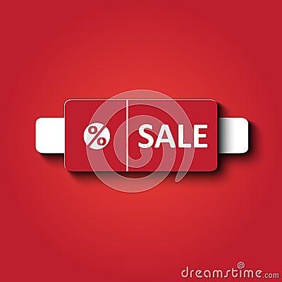 Sale card design
