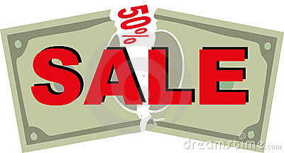 Sale coupon