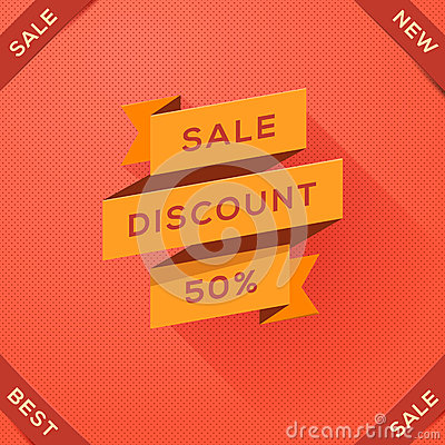 Sale, discount paper folding design