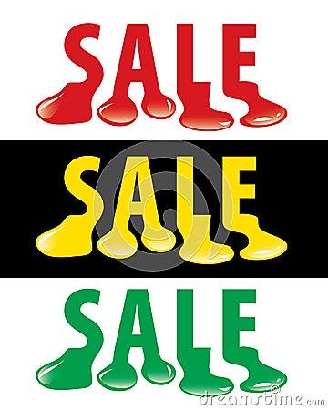 Sale drop
