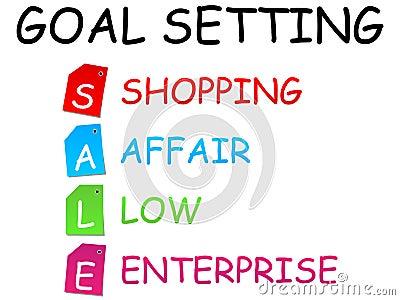 Sale goal setting