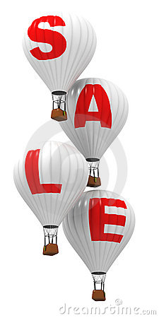 SALE - Hot air balloons