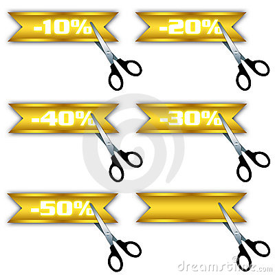 Sale icons, special offer, discount