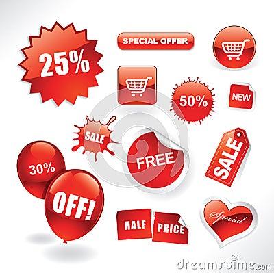 Free Sale Items Stock Image - 17058561