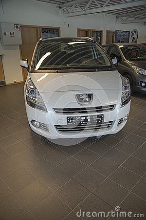 For sale, peugeot 5008 Editorial Photo