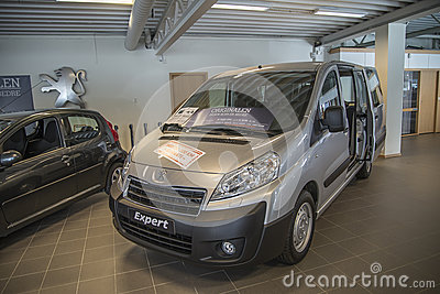 For sale, peugeot expert Editorial Image