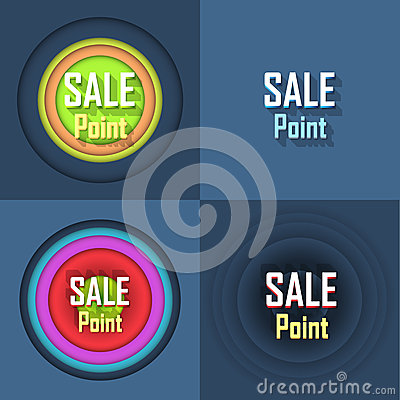 Sale Point Button Icon