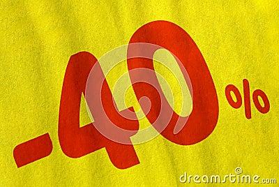 Sale promotion - 40