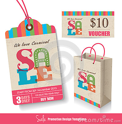 Sale promotion templates