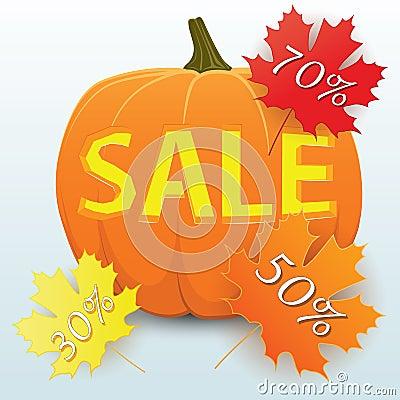 Sale Pumpkin