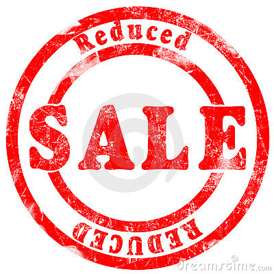Sale reduced