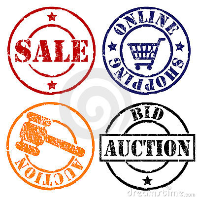 Free Sale Rubber Stamps Royalty Free Stock Photos - 4903338