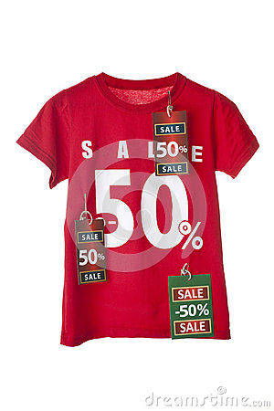 Sale Shirt with tag