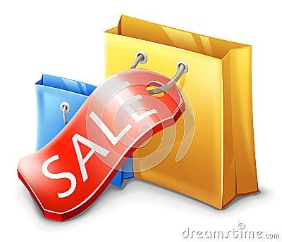 Sale, Shopping Bag