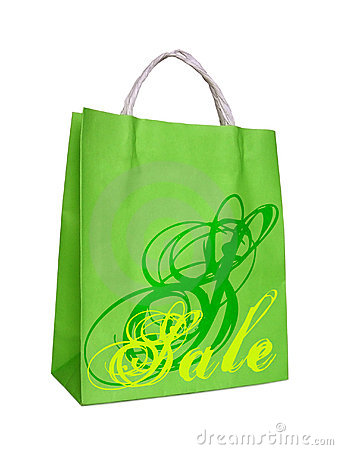 Free Sale, Shopping Bag Stock Images - 2413424