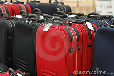 Sale of suitcases
