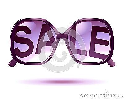Sale sunglasses icon