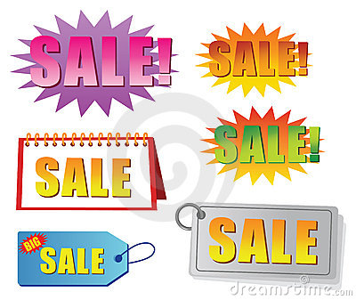 Sale tag and label