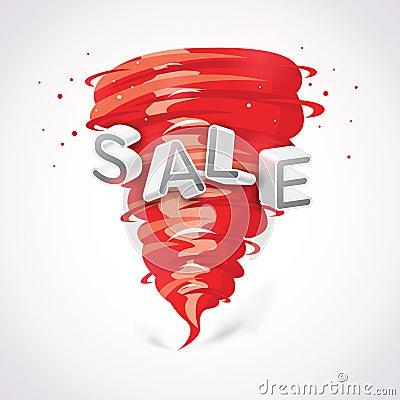 Sale with tornado