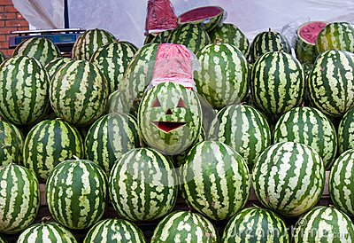 Sale of water-melons