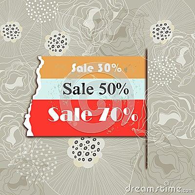 Sales background
