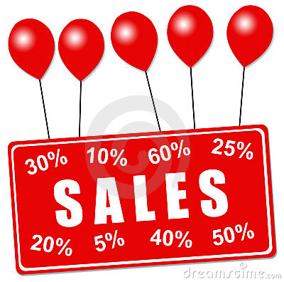 Sales balloons