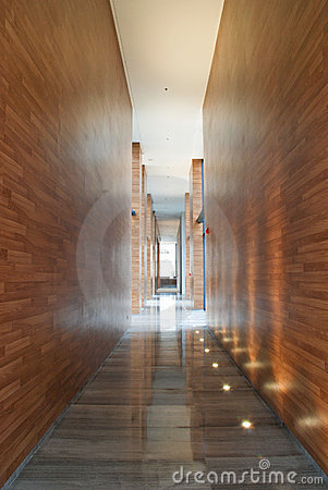 Sales centre walkway