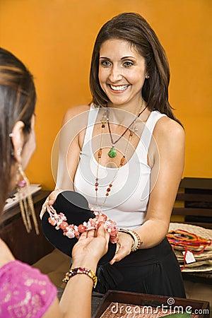 Free Sales Clerk. Stock Photography - 3532782
