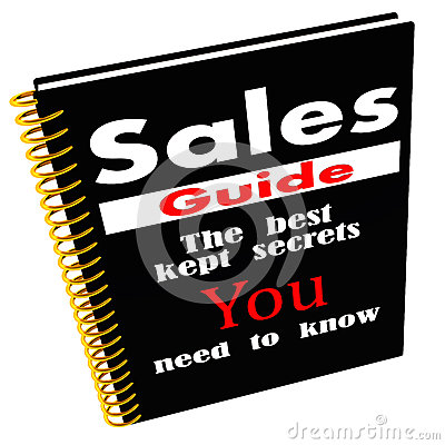 Sales guide of secrets