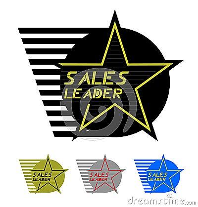 Sales leader emblem